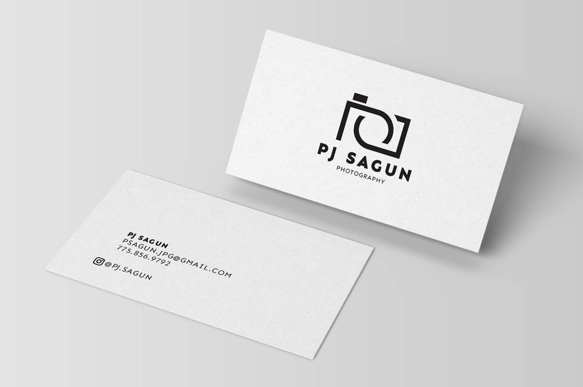 PJ Photography Business Card
